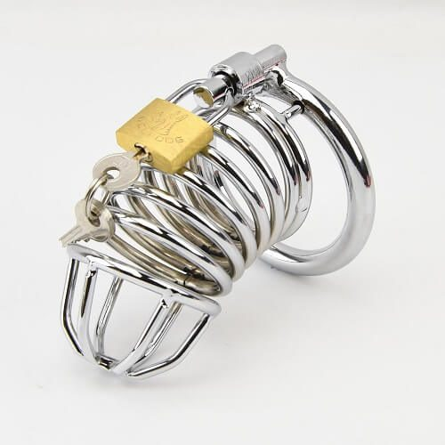 Impound Spiral Male Chastity Device 1